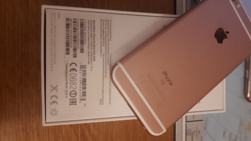 iPhone 6s 32gb pink, , 8500 ₽